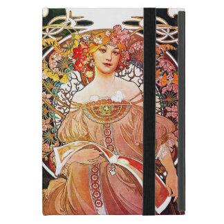 Alphonse Mucha Daydream Floral Vintage Art Nouveau iPad Mini Case