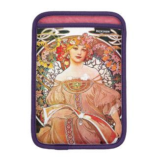 Alphonse Mucha Daydream Floral Vintage Art Nouveau iPad Mini Sleeve