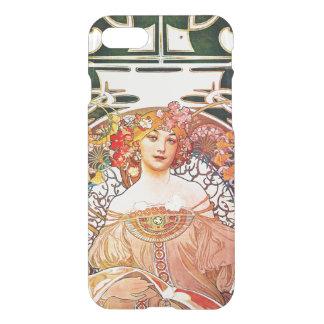 Alphonse Mucha Daydream Floral Vintage Art Nouveau iPhone 8/7 Case