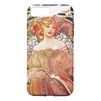 Alphonse Mucha Daydream Floral Vintage Art Nouveau iPhone 8 Plus/7 Plus Case
