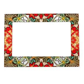 Alphonse Mucha Daydream Floral Vintage Art Nouveau Magnetic Photo Frame