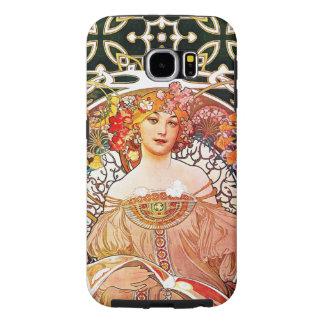Alphonse Mucha Daydream Floral Vintage Art Nouveau Samsung Galaxy S6 Case