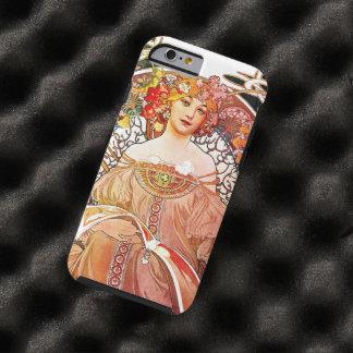 Alphonse Mucha Daydream Floral Vintage Art Nouveau Tough iPhone 6 Case