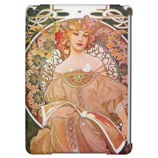 Alphonse Mucha Daydream Reverie Art Nouveau Case For iPad Air