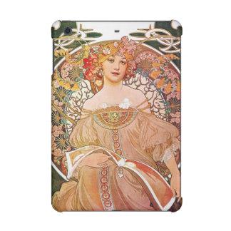 Alphonse Mucha Daydream Reverie Art Nouveau iPad Mini Retina Cases