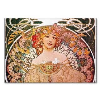 Alphonse Mucha Daydream Reverie Card