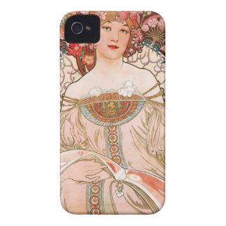 Alphonse Mucha: Daydream (Rêverie) Case-Mate iPhone 4 Cases
