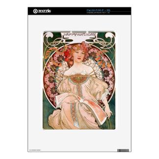 Alphonse Mucha: Daydream (Rêverie) iPad Decal