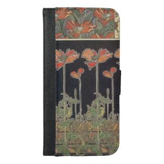 Alphonse Mucha Documents Décoratifs GalleryHD iPhone 6/6s Plus Wallet Case