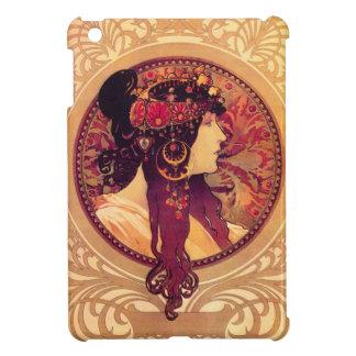 Alphonse Mucha Donna Orechini iPad Mini Case