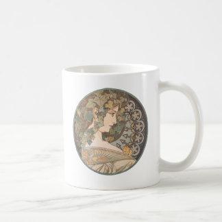 Alphonse Mucha - Erin Coffee Mug