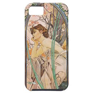Alphonse Mucha Evening Reverie iPhone 5 Case