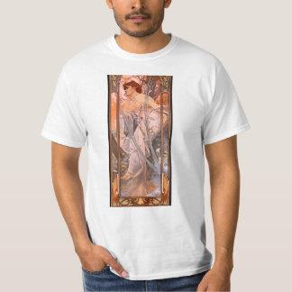 Alphonse Mucha Evening Reverie T-shirt