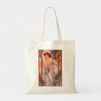 Alphonse Mucha Evening Reverie Tote Bag