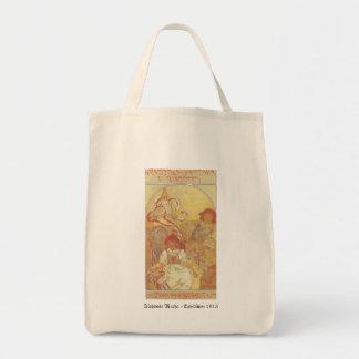 Alphonse Mucha - Exhibition 1913 Bag