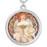 Alphonse Mucha - F. Champenois Necklace