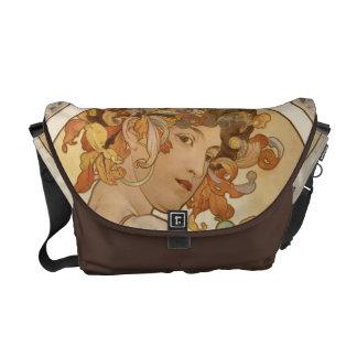 Alphonse Mucha face bag