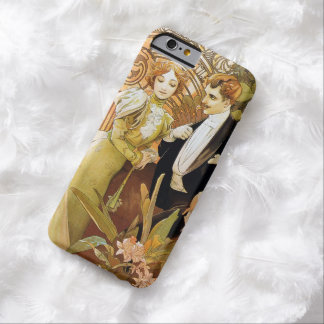 Alphonse Mucha Flirt Vintage Romantic Art Nouveau Barely There iPhone 6 Case