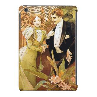 Alphonse Mucha Flirt Vintage Romantic Art Nouveau iPad Mini Case