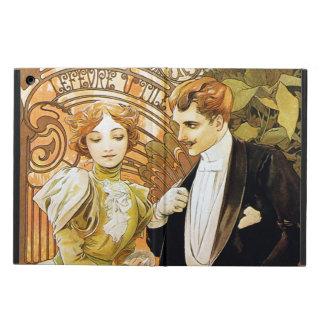 Alphonse Mucha Flirt Vintage Romantic Art Nouveau iPad Air Case