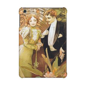 Alphonse Mucha Flirt Vintage Romantic Art Nouveau iPad Mini Retina Cover