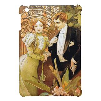 Alphonse Mucha Flirt Vintage Romantic Art Nouveau Case For The iPad Mini