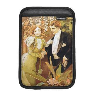 Alphonse Mucha Flirt Vintage Romantic Art Nouveau iPad Mini Sleeve