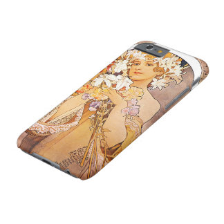 Alphonse Mucha Flower iPhone 6 Case