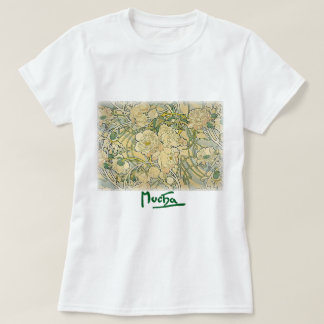 Alphonse Mucha - Flowers T Shirt