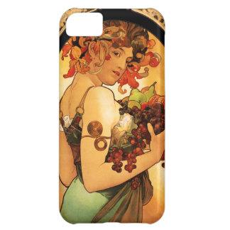 Alphonse Mucha Fruit iPhone 5 Case
