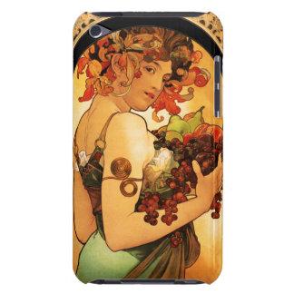 Alphonse Mucha Fruit iPod Touch Case