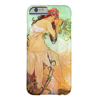 Alphonse Mucha Girl By The Pond iPhone 6 Case