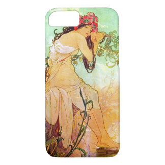 Alphonse Mucha Girl By The Pond iPhone 7 Case