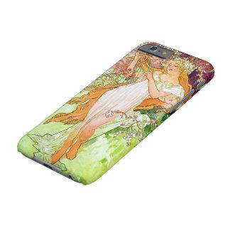 Alphonse Mucha Girl In Garden iPhone 6 Case