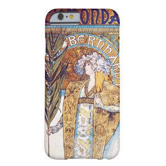 Alphonse Mucha Gismonda Art Nouveau Theater Barely There iPhone 6 Case