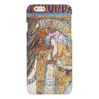 Alphonse Mucha Gismonda Art Nouveau Theater Glossy iPhone 6 Case