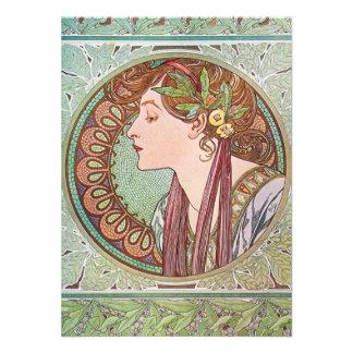 Alphonse Mucha Goddess Art Announcement