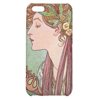 Alphonse Mucha Goddess Art Case For iPhone 5C