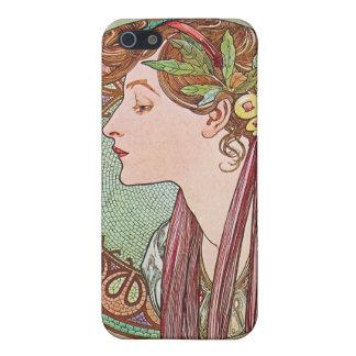 Alphonse Mucha Goddess Art Covers For iPhone 5