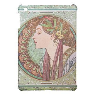 Alphonse Mucha Goddess Art iPad Mini Cover