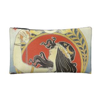 Alphonse Mucha Goddess Art Makeup Bag