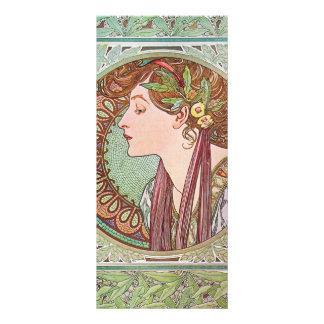 Alphonse Mucha Goddess Art Personalized Rack Card
