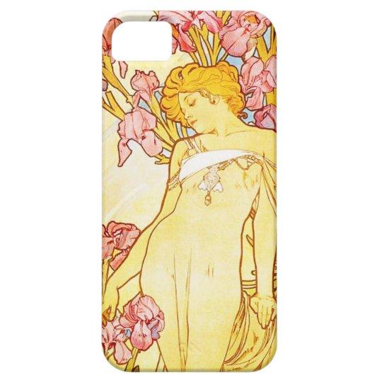 Alphonse Mucha Iris iPhone 5 Case