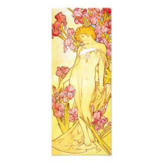 Alphonse Mucha Iris Print