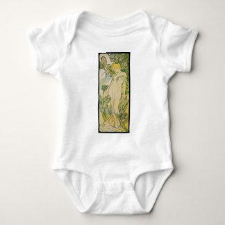 Alphonse Mucha Iris Tee Shirt