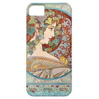 Alphonse Mucha Ivy iPhone SE/5/5s Case