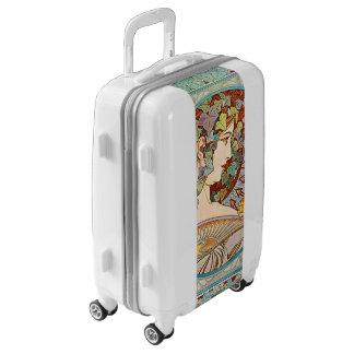 Alphonse Mucha Ivy Luggage Suitcase
