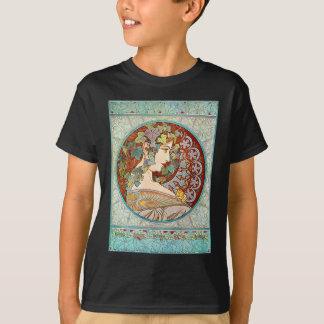 Alphonse Mucha Ivy T-Shirt