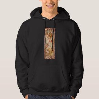 Alphonse Mucha Joan of Arc Hoodie