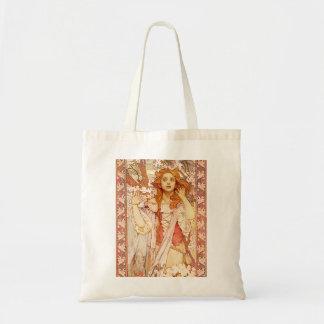 Alphonse Mucha Joan of Arc Tote Bag